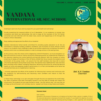 VIS Primary Newsletter